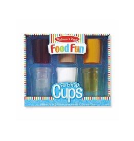 Melissa & Doug Pretend Food Fun Fill Em Up Cups