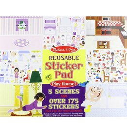 Melissa & Doug Sticker Pad - Play House!
