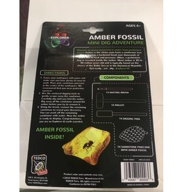 Tedco Toys Dig Kit Amber Fossil