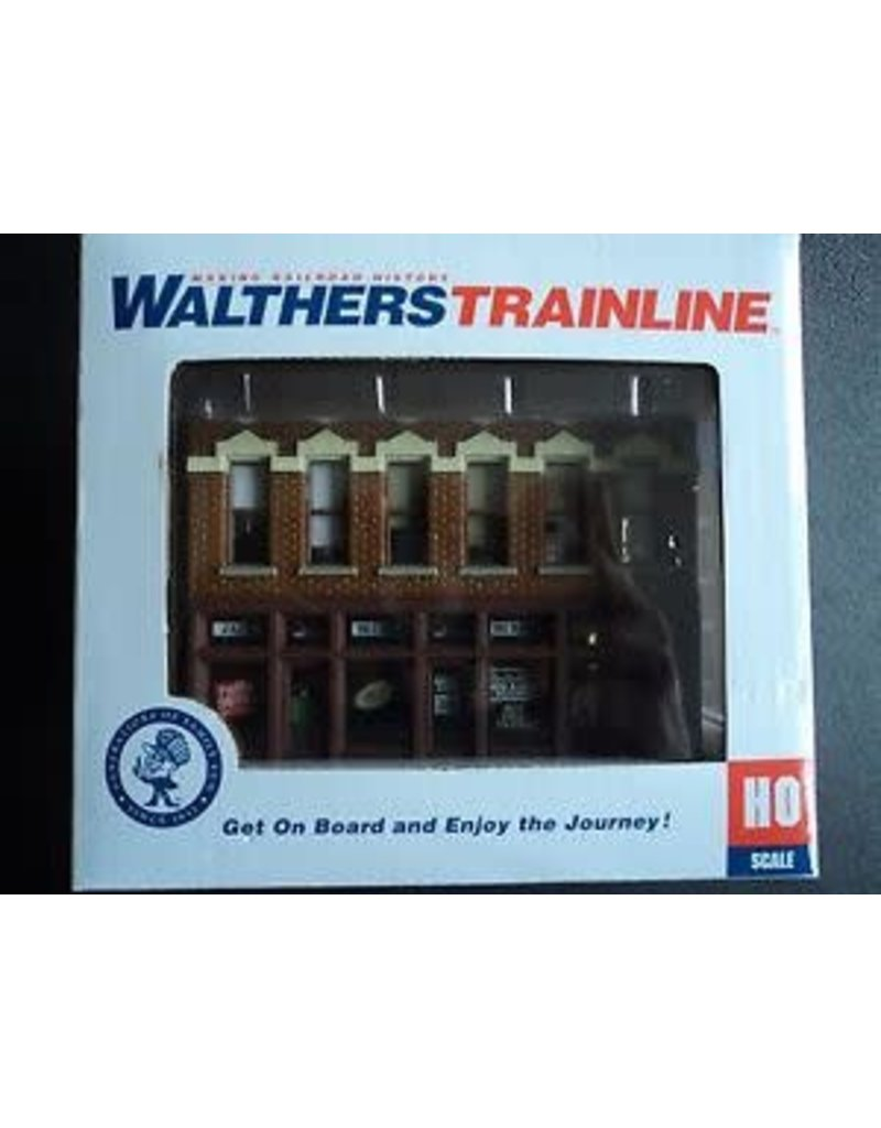 Walthers Gemini Building-Merlin Music-HO Scale