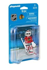 Playmobil Playmobil NHL - Chicago Blackhawks Goalie