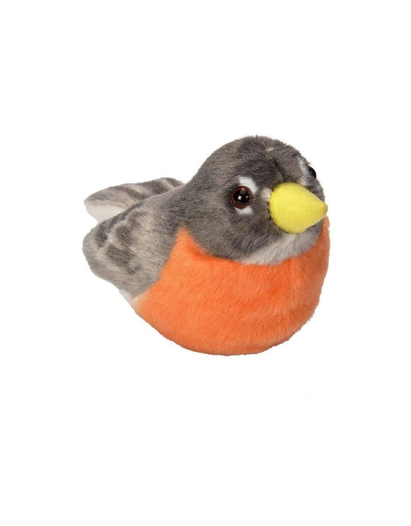 Wild Republic Plush Audobon American Robin
