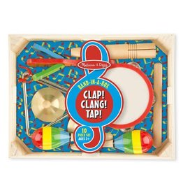 Melissa & Doug Musical Band in a Box Clap! Clang! Tap!