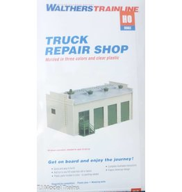 Walthers Hobby Building Wathers Trainline HO Scale - Truck Repair Shop