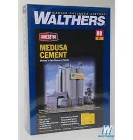 Walthers Hobby Building Walthers Cornerstone HO Scale - Medusa Cement Company