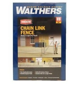 "Walthers Chain Link Fence - Kit - Approximately 80""  203cm, Up to 2 Gates"