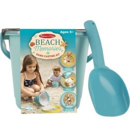 Melissa & Doug Beach Memories Sand - Casting Kit