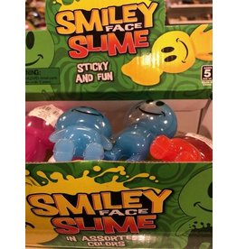 Rhode Island Novelty Smile Face Slime