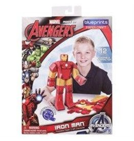 "MARVEL Paper Craft Posable Figure 12"" - Iron Man"