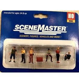 Walthers Hobby SceneMaster HO Figures - Class Trip