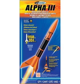 Estes Rockets Hobby Estes Model Rocket -  Alpha III