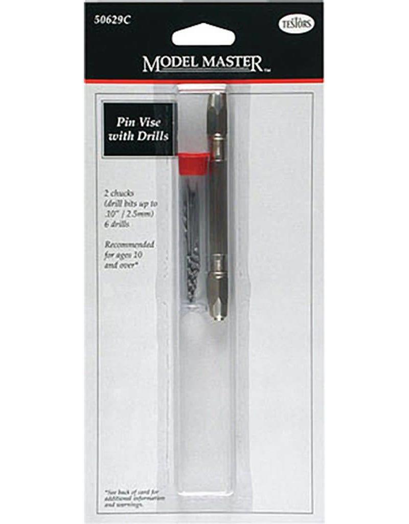 Testors Hobby Tools - Testors Model Master Pin Vise with Drills