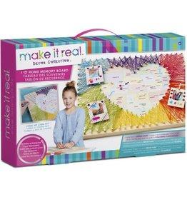 Make it real Craft Kit I Love Home Memory Board