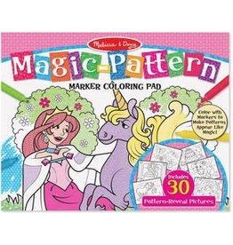 Melissa & Doug Magic-Patterns Coloring Pad - Pink