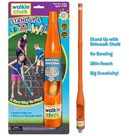 WALKIE CHALK Walkie Chalk Stand Up and Draw Orange Crush