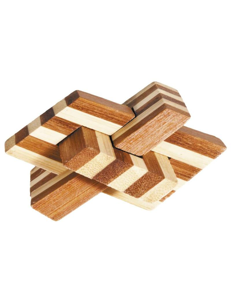 Fridolin IQ Test Bamboo Puzzle - Chain Knot