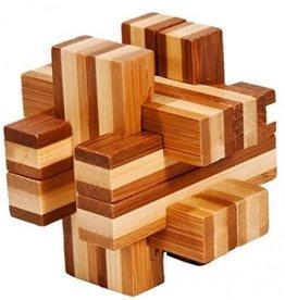 Fridolin IQ Test Bamboo Puzzle - Balken Construct