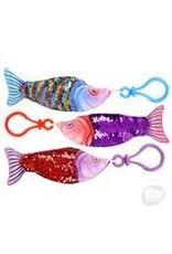 "Rhode Island Novelty Keychain - Sequin Fish 4"""