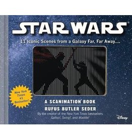 Workman Publishing Co Scanimation Book - Star Wars