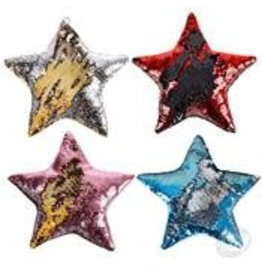 Rhode Island Novelty Plush Sequin Star Pillow