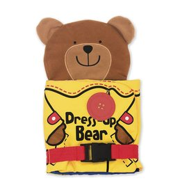 Melissa & Doug Baby Soft Book - Dress Up Bear