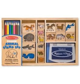 Melissa & Doug Stamp Set - Animal