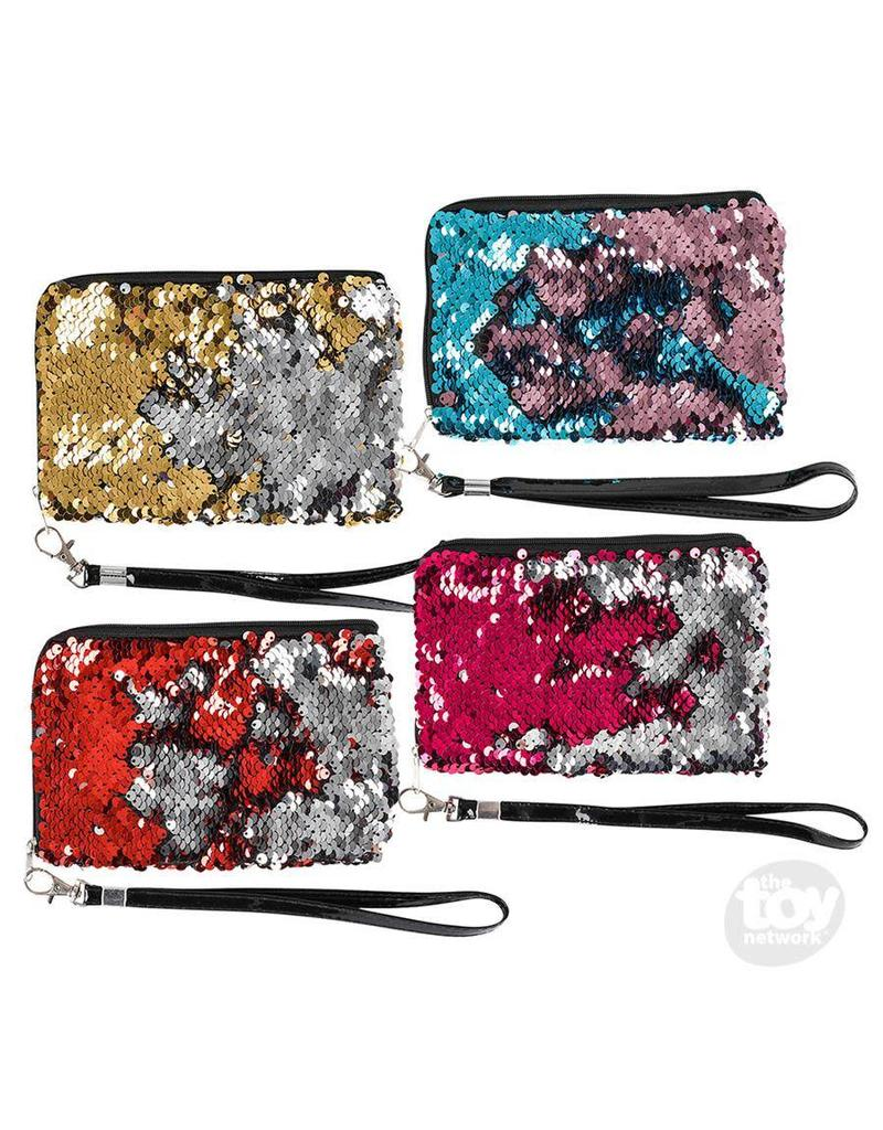 "Rhode Island Novelty Mermaid Flip Sequin Wristlet (6.5""x4.5""; assorted)"