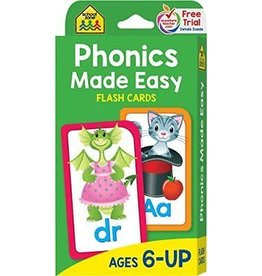 School Zone Flash Cards - Phonics Made Easy