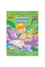 School Zone Workbook - Beginning Reading Deluxe - Grades 1-2