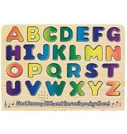 Melissa & Doug Puzzle - Wooden Alphabet Sound Puzzle