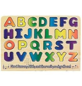 Melissa & Doug Wooden Alphabet Sound Puzzle