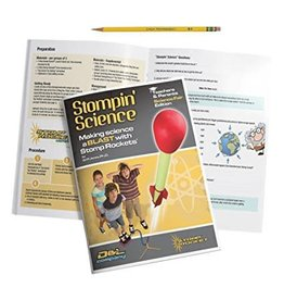 D&L Company LLC Book Stompin' Science - Making Science a BLAST with Stomp Rockets