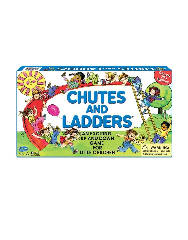 Winning Moves Chutes and Ladders Classic Edition