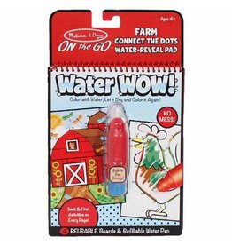 Melissa & Doug Water Wow! - Farm Connect the Dots