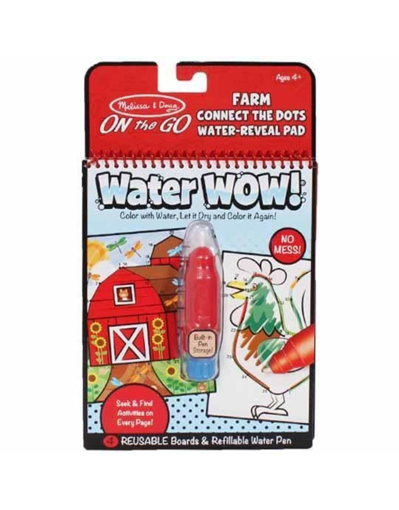 Melissa & Doug On-the-Go Water Wow! - Farm Connect the Dots