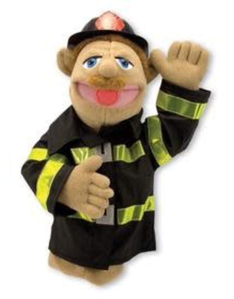 Melissa & Doug Puppet - Firefighter