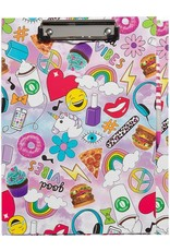 3 Cheers for Girls Clipboard Stationary Set - Good Vibes
