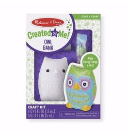 Melissa & Doug Created by Me - Owl Bank