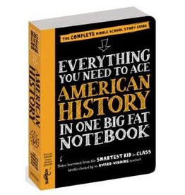 Workman Publishing Co Book - Everything You Need to Ace American History