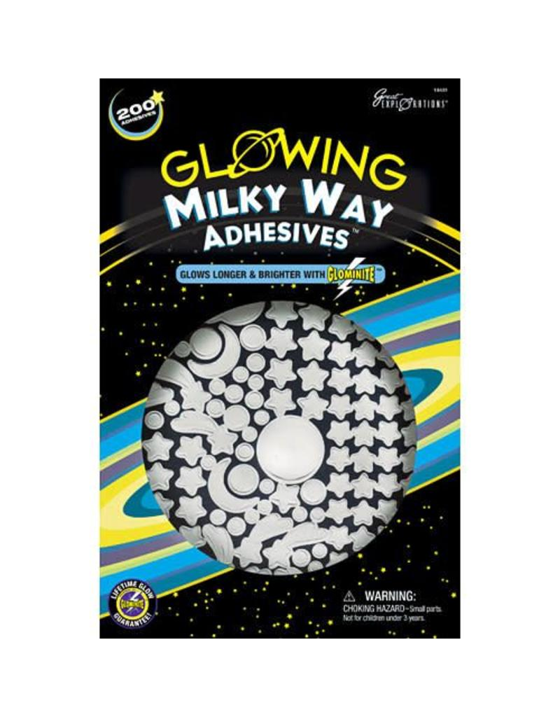 University Games Glowing Adhesives-Milky Way