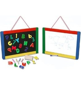 Melissa & Doug Magnetic Chalk & Dry-Erase Board