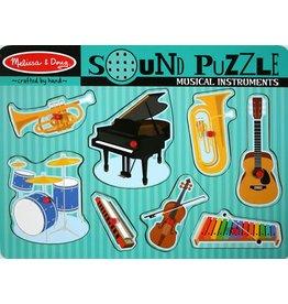 Melissa & Doug Puzzle - Sound Puzzle - Musical Instruments
