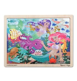 Melissa & Doug Puzzle - Mermaid Fantasea - 48 Piece
