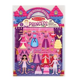 Melissa & Doug Puffy Sticker Activity Book - Princess