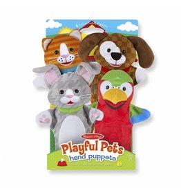 Melissa & Doug Hand Puppets - Playful Pets