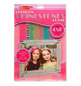 Melissa & Doug Craft Kit Press-On Rhinestones Frame