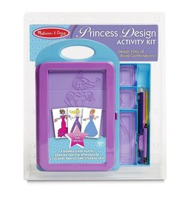 Melissa & Doug Princess Design Activity Set
