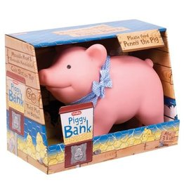 Schylling Toys Rubber Piggy Bank