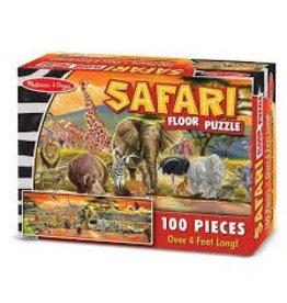 Melissa & Doug Floor Puzzle - Safari - 100 Piece