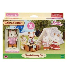 International Playthings Calico Critters Seaside Camping Set